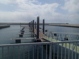 遊漁船のための桟橋設計